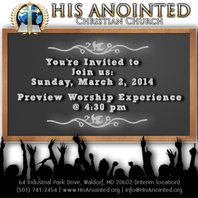 Preview Worship Service Experience