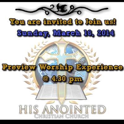 Preview Worship Service Experience 3